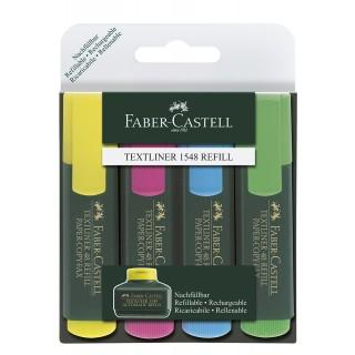 FABER CASTELL Nachfüllung  für Textmarker 30 ml gelb