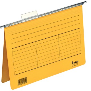BENE Hängehefter 116705 5 Stück gelb