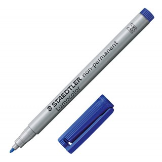 STAEDTLER LUMOCOLOR OHP-Stift 315 non-permanent 1 mm blau