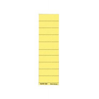 LEITZ Beschriftungsschild Alpha 100 Stück gelb