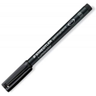STAEDTLER LUMOCOLOR OHP-Stift permanent schwarz