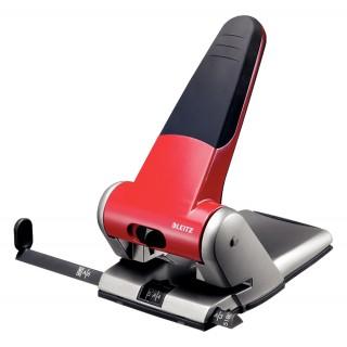 LEITZ Kraftlocher 5180 für 65 Blatt rot