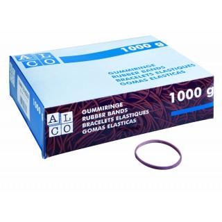 ALCO Gummiringe Ø 100 mm 1kg rot