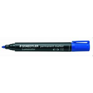 STAEDTLER Permanentmarker Lumocolor 352 mit Rundspitze 2 mm blau