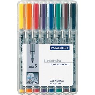 STAEDTLER OHP-Stift Lumocolor 311 non-permanent 0,4 mm 8 Stück mehrere Farben