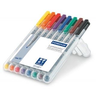 STAEDTLER OHP-Stift Lumocolor 315 non-permanent 1 mm 8 Stück mehrere Farben