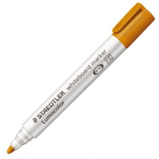 STAEDTLER Whiteboardmarker Lumocolor 351 mit Rundspitze 2 mm orange