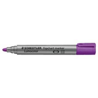 STAEDTLER Flipchartmarker Lumocolor 356 mit Rundspitze 2 mm violett