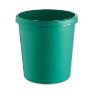 HELIT Papierkorb 18 Liter grün