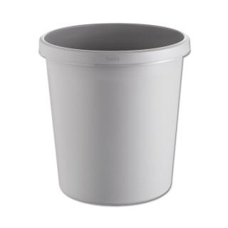 HELIT Papierkorb 18 Liter grau