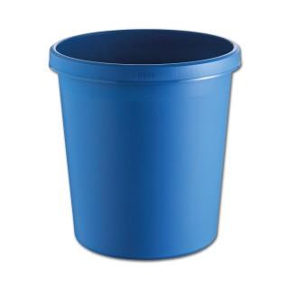 HELIT Papierkorb 18 Liter blau