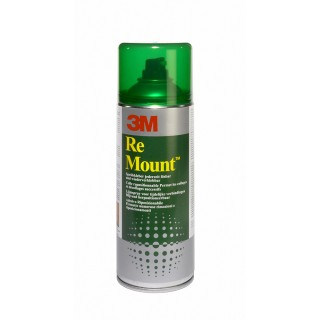 3M™ Sprühkleber ReMount™ 400ml transparent