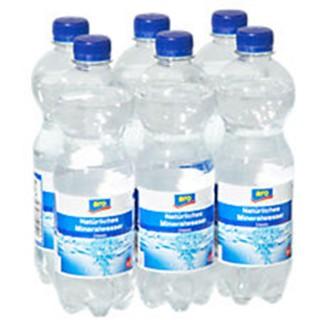 ARO Mineralwasser 1,5 Liter prickelnd 6er Pack