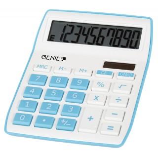 GENIE Tischrechner 840B weiß/blau