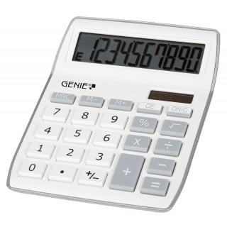 GENIE Tischrechner 840S weiß/grau