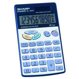 SHARP Taschenrechner EL-480S