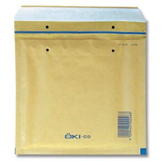 ÖKI Luftpolstertasche für CDs braun