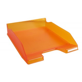 MULTIFORM Briefablage Combo für A4/C4 orange transparent