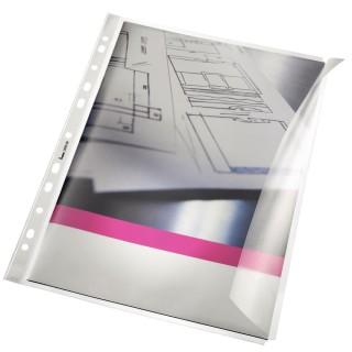 BENE Sichthülle mit Klappe A4 transparent
