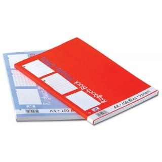 WURZER Ringbuchblock A4 100 Blatt liniert