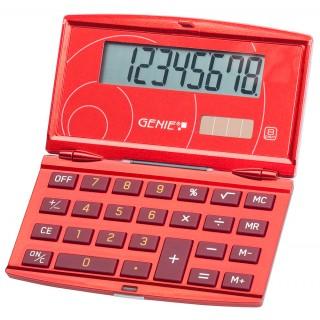 GENIE Taschenrechner 200 11638 rot