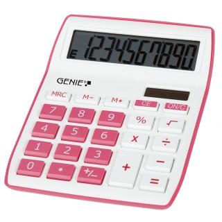 GENIE Tischrechner 840P pink