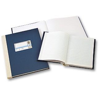 WURZER Geschäftsbuch A5 192 Blatt liniert dunkelblau
