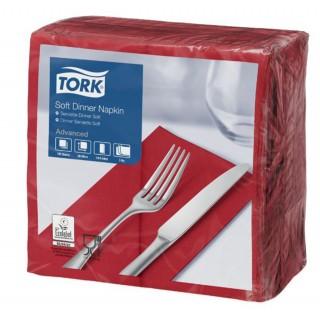 TORK Serviette 3-lagig 100 Stück bordeaux