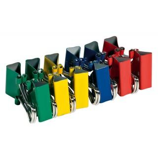 ALCO Foldback-Klammern 781 S 12 Stück 1,9 cm mehrere Farben