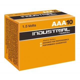 DURACELL Batterie Industrial MN2400 AAA 10 Stück