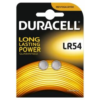 DURACELL Knopfzelle LR54 1,5 V 2 Stück