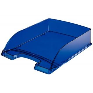 LEITZ Briefkorb A4 blau transparent
