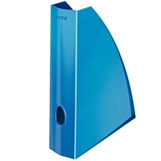 LEITZ Stehsammler 5277 WOW blau mettalic