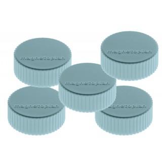 MAGNETOPLAN Magnete Discofix Magnum 34 mm 10 Stück blau