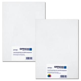 OFFICIO Laser/Kopierfolie A4 100 Blatt schwarz/weiß