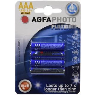 AGFAPHOTO Batterien 4 Stück Alkali AAA