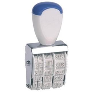 KORES Datumstempel SIO 91010 4 mm Monat in Buchstaben weiß