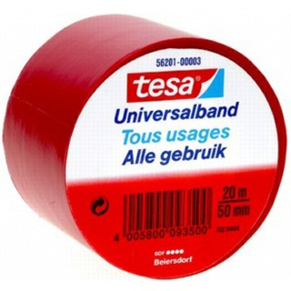 TESA Universal-Isolierband 50 mm x 20 m rot