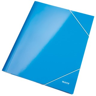 LEITZ Eckspannermappe WOW 3982 blau