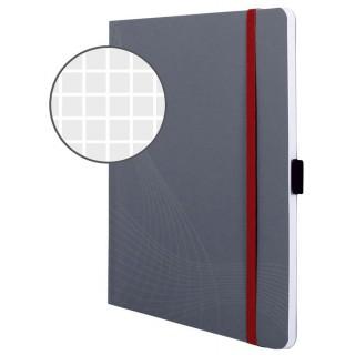 AVERY ZWECKFORM Notizbuch mit Softcover A5 liniert grau