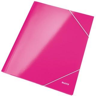 LEITZ Eckspannermappe WOW 3982 rosa