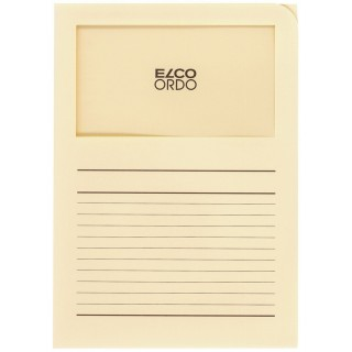 ELCO Ordo-Mappe A4 100 Stück chamois