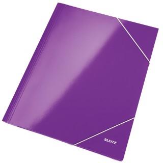 LEITZ Eckspannermappe WOW 3982 violett