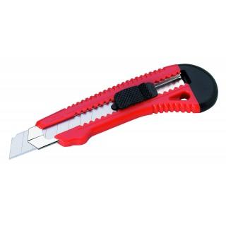 ALCO Cuttermesser mit Metallführung 18 mm rot