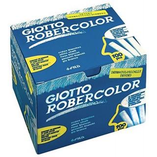 GIOTTO Tafelkreide Robercolor ungewickelt 100 Stück weiß