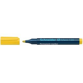 SCHNEIDER Permanentmarker Maxx 130 Rundspitze 1-3 mm gelb
