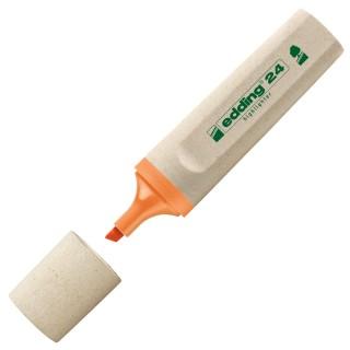 EDDING Textmarker EcoLine 24 mit Keilspitze orange