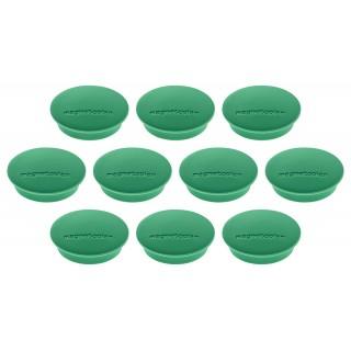 MAGNETOPLAN Magnet Discofix 30 mm 10 Stück grün