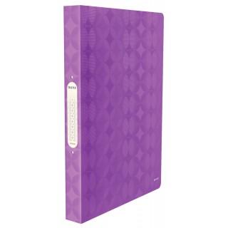 LEITZ Ringbuch 2 Ringe violett