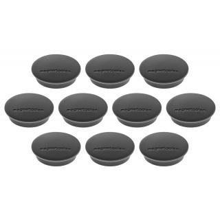 MAGNETOPLAN Magnet Discofix 30 mm 10 Stück schwarz